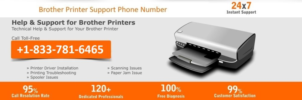 Brother printer support number, brother